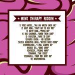 Mind Therapy Riddim CD